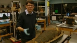 US Scientists Get Closer Look at Egyptian Mummy