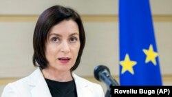 Прем'єр-міністр Молдови Мая Санду