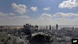 Kuće porušene u Gazi tokom izraelske ofanzive