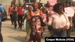 Mães de activistas em protesto (Arquivo)