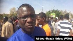 Ali Idrissa, à Niamey, le 22 janvier 2019. (VOA/Abdoul-Razak Idrissa)