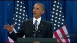 Барак Обама розповів про досягнення своєї адміністрації у сфері боротьби з тероризмом. Відео