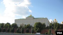 Istana Grand Kremlin, Rusia. (Foto: dok).