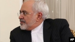Ministan harkokin wajen kasar Iran Mohammad Javad Zarif