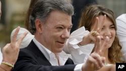 후안 마누엘 산토스 콜롬비아 대통령. (자료사진)
