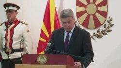 Иванов не го потпиша указот за прогласување на Законот за употреба на јазиците