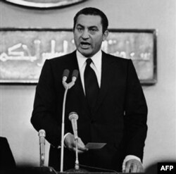 Husni Muborak qasamyod marosimida, Qohira, 14 oktabr 1981