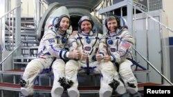 115일간 국제우주정거장에 체류하고 30일 지구로 무사귀환한 우주비행사들