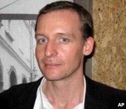莫斯科的捷克中心领导人马霍宁