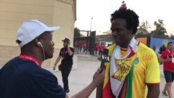 Zimbabwean Travels From London to Egypt for Warriors Game Against Uganda