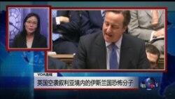VOA连线: 英国空袭叙利亚境内的伊斯兰国恐怖分子