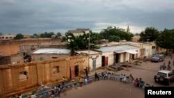 Vue sur la prison centrale de Bamako, au Mali, le 18 septembre 2012.