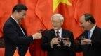 Chủ tịch Trung Quốc chúc Tết ông Nguyễn Phú Trọng