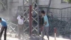 На улиците на Газа