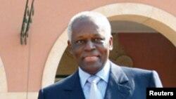 José Eduardo dos Santos em Luanda