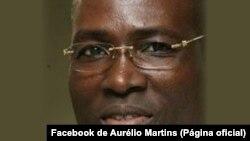 Aurélio Martins, novo líder do MLSTP-PSD