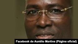 Aurélio Martins, candidato à liderança do MLSTP-PSD