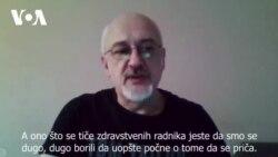 Rade Panić o broju mrtvih lekara i zdravstvenih radnika