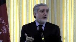 آقای عبدالله می گوید که بدیل برگزار نشدن انتخابات، ناآرامی مطلق است.