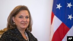 Asisten Menteri Luar Negeri AS Victoria Nuland.