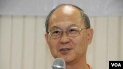 香港鮮魚行學校校長梁紀昌呼籲不應鼓勵學生參與違法的公民抗命行動