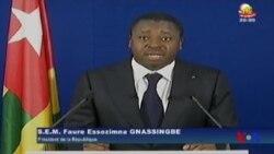 Faure Gnassingbé souhaite le dialogue pour régler la crise (vidéo)