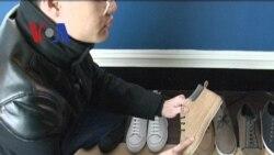 Praja, Sepatu Produksi Ferdy Tumakaka - Liputan Feature VOA Maret 2012