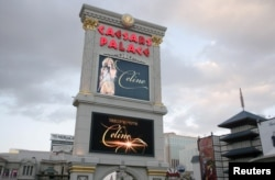 FILE -- World-renowned singers like Celine Dion help draw people to Las Vegas, Nevada.