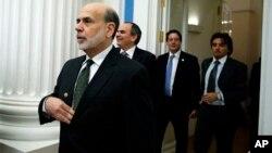 Бен Бернанке в Кремле. 16 февраля 2013г.