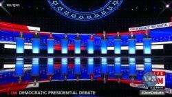 Охорона здоров'я, міграція та хто зможе перемогти Трампа – теми демократичних дебатів-2. Відео