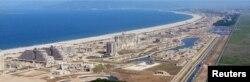 북한 관영 조선중앙통신은 지난 5월 대규모 건설 작업이 진행 중인 원산-갈마 해안관광지구 사진을 공개했다. 당시 김정은 국무위원장이 현장을 시찰했다.