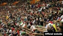 ورزشگاه آزادی که برای برگزاری مسابقات جهانی والیبال در نظر گرفته شده بود