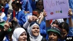 Участники демонстрации в Бенгази потребовали отставки Каддафи