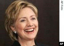 US Secretary of State, Hillary Clinton (File)