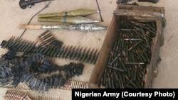 Wasu Daga Irin Makaman Da Ake Kwacewa Daga Hannun 'Yan Boko Haram