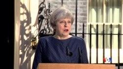 2017-04-18 美國之音視頻新聞: 英國宣佈提早舉行大選 (粵語)