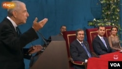 Los 'Héroes de Fukushima' recibieron el Premio Príncipe de Asturias de la Concordia.