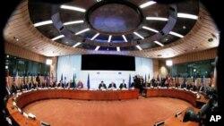 Cuộc họp thượng đỉnh của các nhà lãnh đạo EU ở Brussels hôm 2/3/12