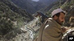 Афганський солдат у Білих горах