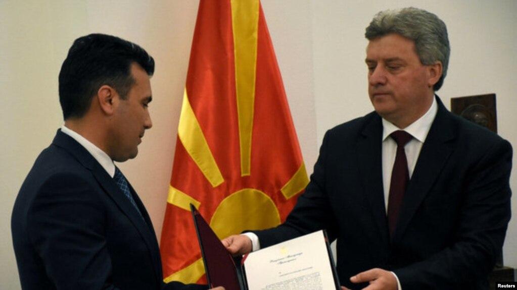 Maqedoni, Zoran Zaev merr mandatin për formimin e qeverisë