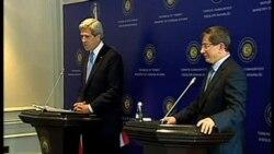 克里会晤土耳其官员商讨结束叙内战途径