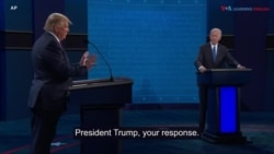 Highlights of US Presidential Debate, Oct. 22, 2020
