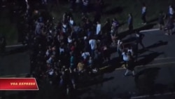 Biểu tình ở Charlotte phản đối cảnh sát bắn chết người