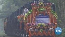 ঈদ উপহার হিসেবে বাংলাদেশকে ১০টি রেল ইঞ্জিন দিয়েছে ভারত