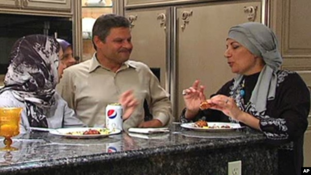 American Muslims in the Washington DC area gather for Iftar.