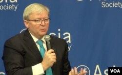 Ông Kevin Rudd, nguyên Thủ tướng Úc, hiện là Chủ tịch Viện Nghiên cứu Chính sách Asia Society.