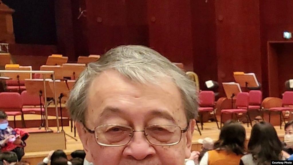 中共党史学者林保华。(林保华提供)(photo:VOA)