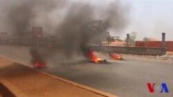 Conakry paralysée par une grève contre le prix du carburrant (vidéo)