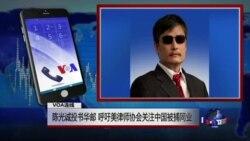 """VOA连线(陈光诚):""""该是出手声援的时刻"""" 陈光诚吁美律师协会关注中国被捕同业"""