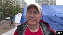 Ron Sanger, učesnik protesta u Vašingtonu